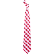 Eagles Wings NCAA Ohio State Buckeyes Woven Check Tie