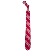 Eagles Wings NCAA Utah Utes Woven Skinny Plaid Tie