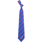 Eagles Wings NCAA Kansas Jayhawks Woven Tie