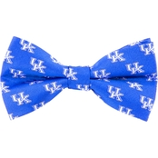 Eagles Wings NCAA Kentucky Wildcats Woven Repeat Logo Bow Tie