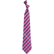Eagles Wings NCAA Mississippi Ole Miss Rebels Woven Check Tie
