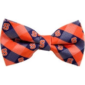 Eagles Wings NCAA Syracuse Orange Woven Check Bow Tie