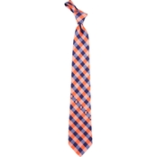 Eagles Wings NCAA Syracuse Orange Woven Check Tie