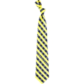 Eagles Wings NCAA US Naval Academy Woven Check Tie