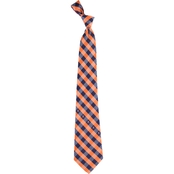 Eagles Wings NCAA Virginia Cavaliers Woven Check Tie