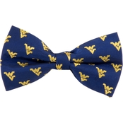 Eagles Wings NCAA West Virginia Mountaineers Woven Repeat Logo Bow Tie