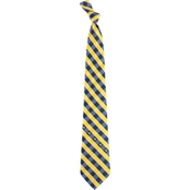 Eagles Wings NCAA West Virginia Mountaineers Woven Check Tie