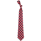 Eagles Wings NCAA Louisville Cardinals Woven Check Tie