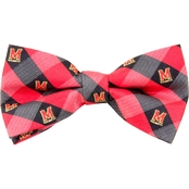 Eagles Wings NCAA Maryland Terrapins Woven Check Bow Tie