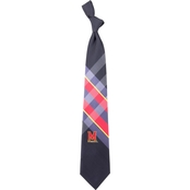 Eagles Wings NCAA Maryland Terrapins Woven Grid Tie