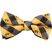 Eagles Wings NCAA Missouri Mizzou Tigers Woven Check Bow Tie