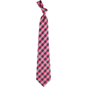Eagles Wings NCAA Texas Tech Red Raiders Woven Check Tie