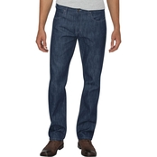 Dickies 5 Pocket Button Fly Denim Regular Straight Leg Jeans