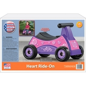 American Plastic Toys Heart Ride On
