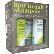 DevaCurl How To Quit Shampoo Cleanse and Condition Kit