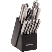 Farberware Stamped Stainless Steel 15 pc. Cutlery Set