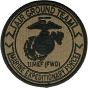 Patch Second Marine Expedition Forces Velcro Subdued (OCP)