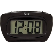 Equity by La Crosse Super Loud LCD Digital Alarm Clock