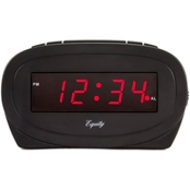 Equity by La Crosse 0.6 in. Display LED Alarm Clock