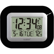 Equity by La Crosse Atomic Digital Wall Clock