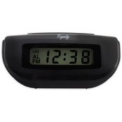 Equity by La Crosse LCD Digital Alarm Clock