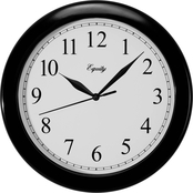 Equity by La Crosse 10 in. Analog Wall Clock
