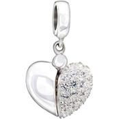 Chamilia Sterling Silver Secret Message Heart Charm