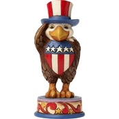 Jim Shore Heartwood Creek Patriotic Eagle