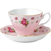 Royal Albert New Country Roses Pink Vintage Teacup