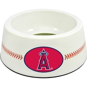 GameWear MLB Anaheim Angels Classic Baseball Pet Bowl