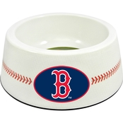 GameWear MLB Boston Red Sox Classic Baseball Pet Bowl