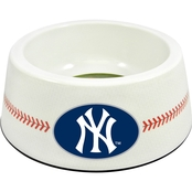 GameWear MLB New York Yankees Classic Baseball Pet Bowl