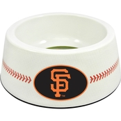 GameWear MLB San Francisco Giants Classic Baseball Pet Bowl