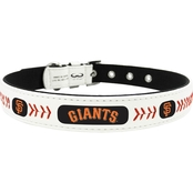 GameWear MLB San Francisco Giants Classic Leather Dog Collar