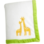 Carter's Infants Animal Collection Appliqued Coral Fleece Blanket