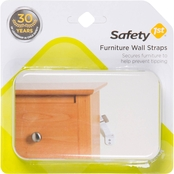 Safety 1st Furniture Wall Strap 2 Pk.