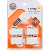 Safety 1st Complete Magnetic Locking System, 4 Locks + 1 Key