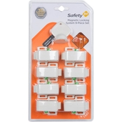 Safety 1st Deluxe Magnetic Locking System, 8 Locks + 1 Key