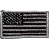 Trooper Clothing Kids Silver American Flag Patch