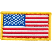 Trooper Clothing Kids Red, White and Blue American Flag Patch