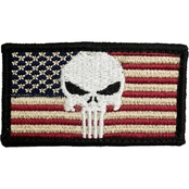 Trooper Clothing Kids Punisher/American Flag Patch