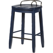 Klaussner Trisha Yearwood Cowboy Saddle Stool