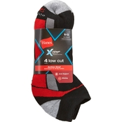 Hanes X-Temp Arch Support Low Cut Socks