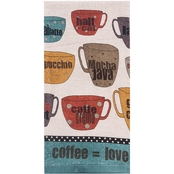 Kay Dee Designs Good Coffee Terry Towel