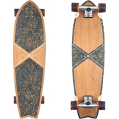 Globe Chromantic Surf-Inspired Special Edition 33.1 In. Teakwood Cruiser