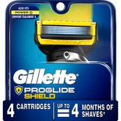 Gillette Men's Fusion ProShield Razor Cartridge Refills 4 pk.