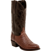 Lucchese Men's Charles Caiman Crocodile Belly Boots