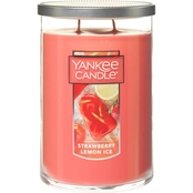 Yankee Candle Strawberry Lemon Ice Large 2 Wick Tumbler Candle