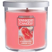 Yankee Candle Strawberry Lemon Ice Tumbler Candle, Small