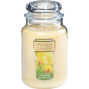 Yankee Candle Flowers in the Sun Large Jar Candle